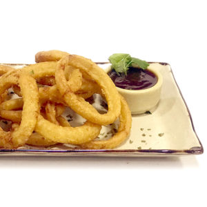 Cotton Grill. Entrantes. Onion Rings