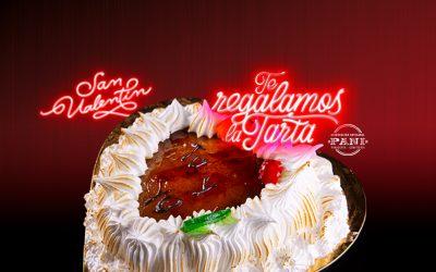 Celebra San Valentín con una tarta gratis (Promoción finalizada)